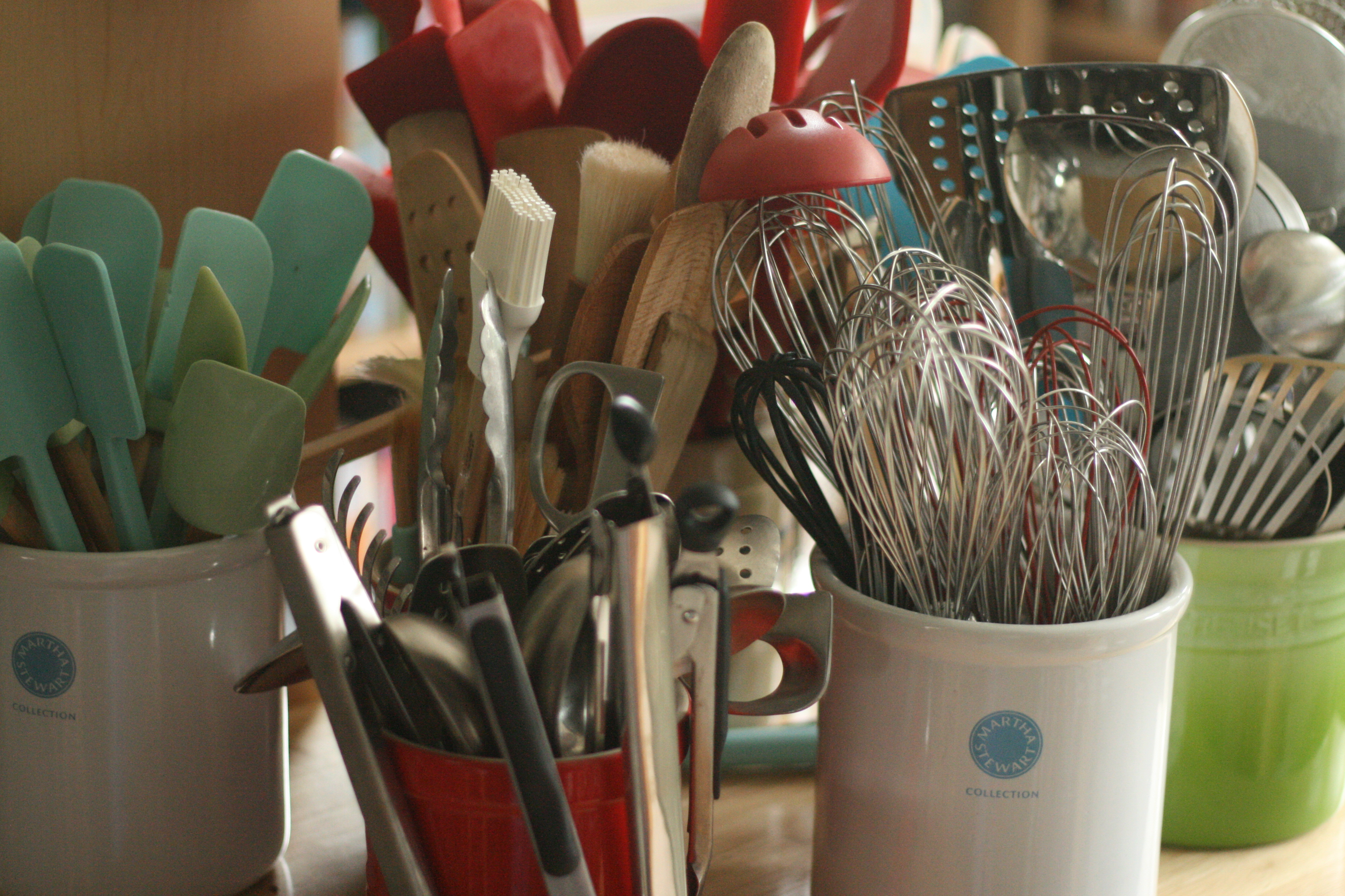 I Have A Ton Of Kitchen Gadgets Whisks In Many Sizes Brushes Graters Spatulas Etc My Aunt Told Me Once That Can Never Too