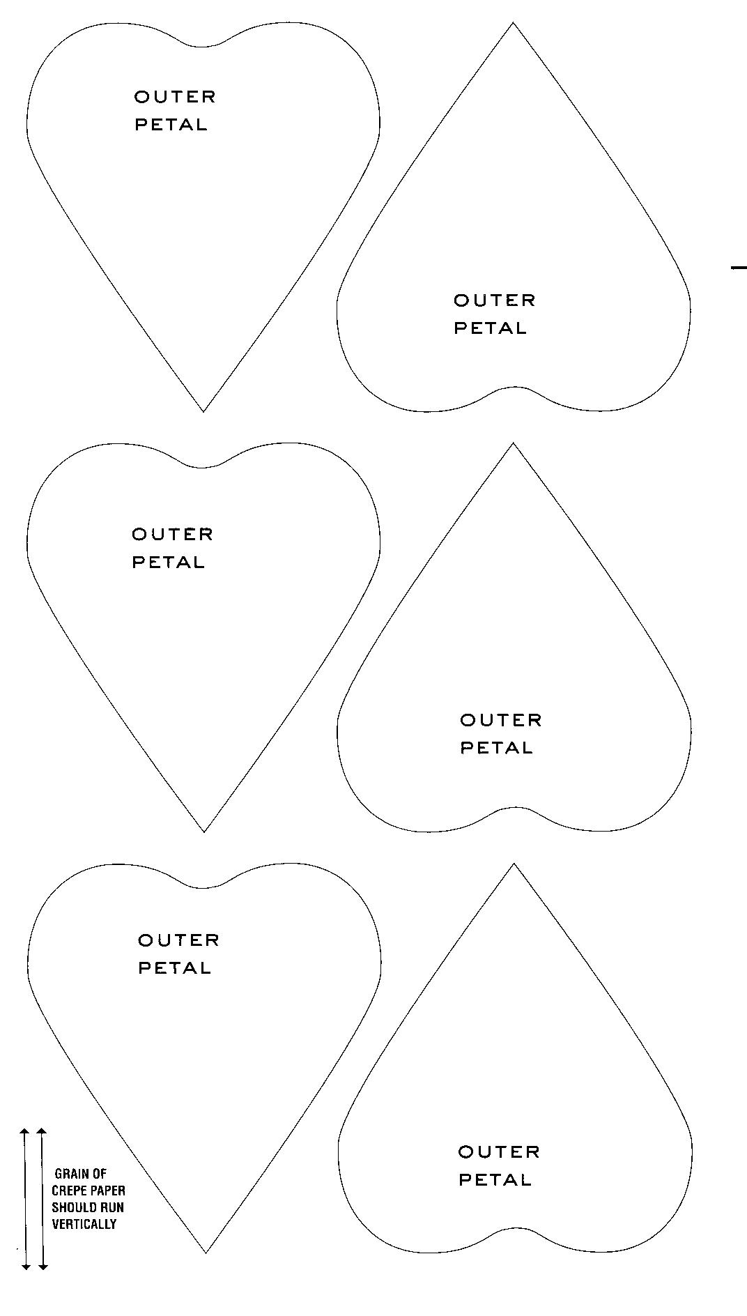 Martha Stewart Flower Templates